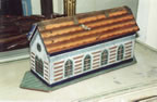painted folk art Noahs Ark